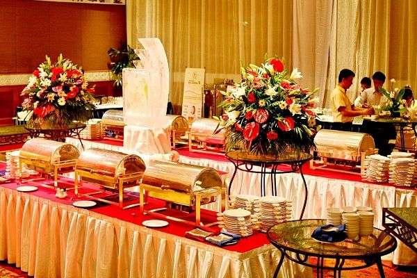 Phong cách đám cưới buffet
