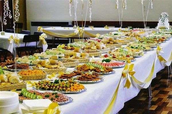 thực đơn buffet