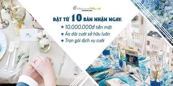 ưu đãi tiệc cưới