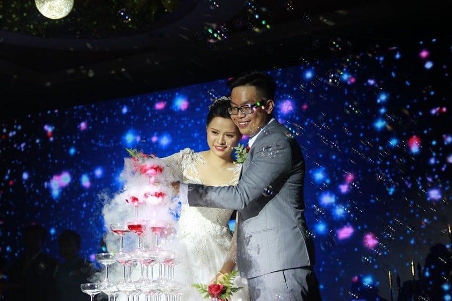 Một lễ cưới được tổ chức tại Diamond Place