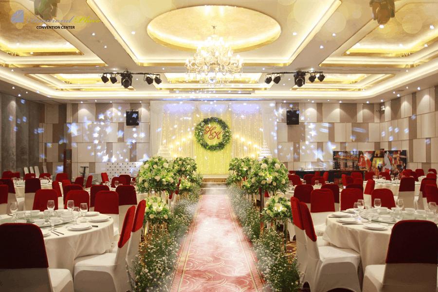 Sảnh tổ chức tiệc cưới của Diamond